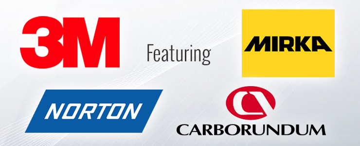 Colours, Inc. features 3M, Norton, Carborundum and Mirka products.